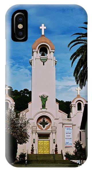 Mission San Rafael IPhone Case
