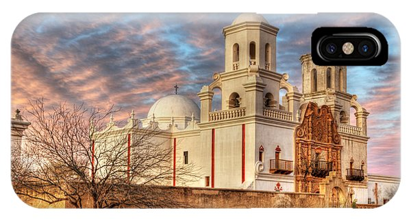 Mission San Xavier Del Bac 2 IPhone Case