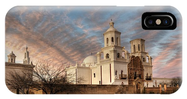 Mission San Xavier Del Bac IPhone Case