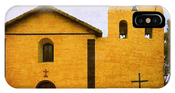 Mission Santa Inez IPhone Case