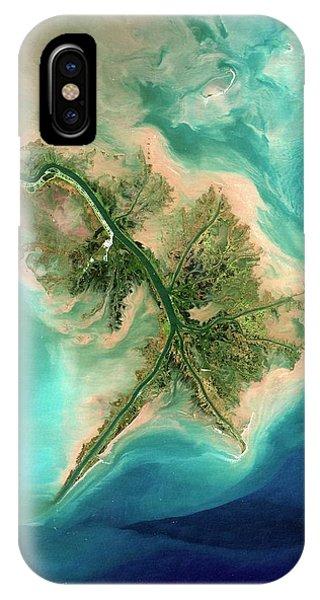 Delta iPhone Case - Mississippi Delta by Planetobserver