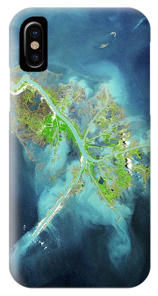Mississippi River iPhone Case - Mississippi Delta by Planetobserver/science Photo Library