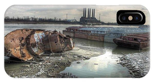 Mississippi River iPhone Case - Mississippi River by Jane Linders