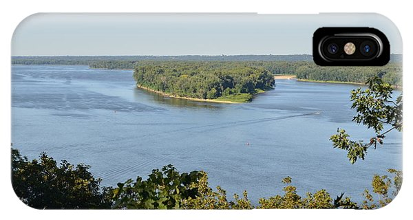 Mississippi River Overlook IPhone Case
