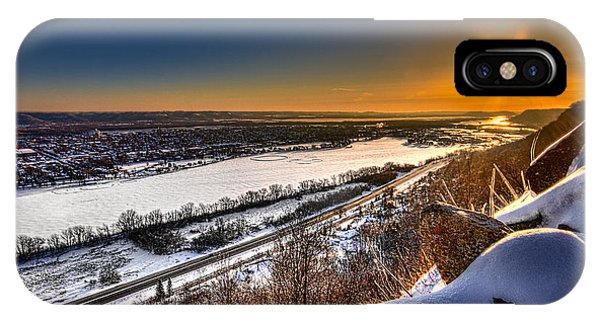Mississippi River Sunrise IPhone Case