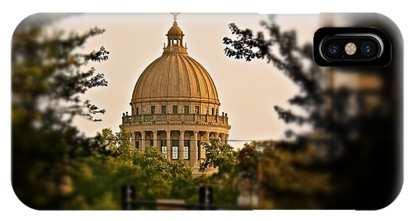 Mississippi State Capitol Dome IPhone Case