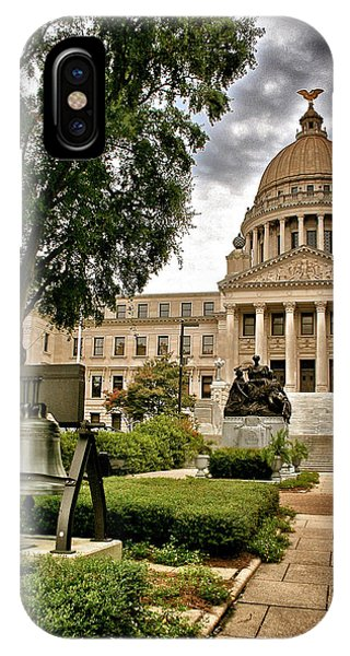 Mississippi State Capitol IPhone Case