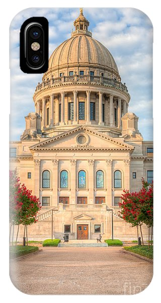 Mississippi State Capitol V IPhone Case