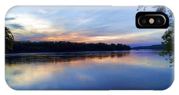 Missouri River Blues IPhone Case