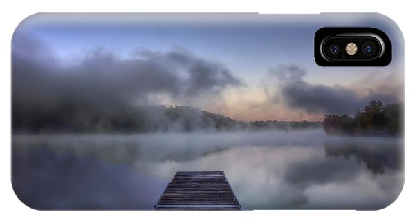 Mist At Lake Logan IPhone Case