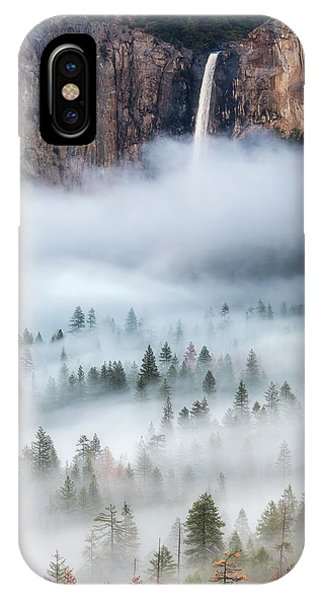 Mist Falls IPhone Case
