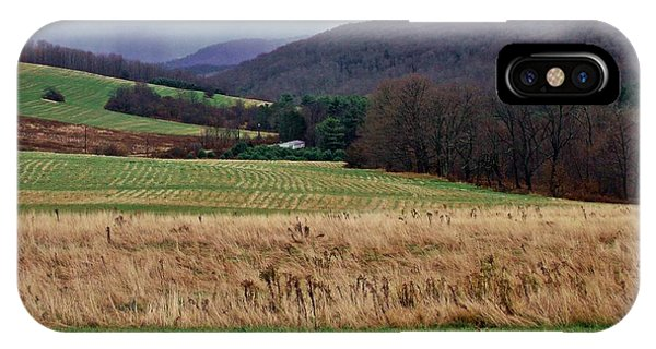 Mist In The Hills IPhone Case