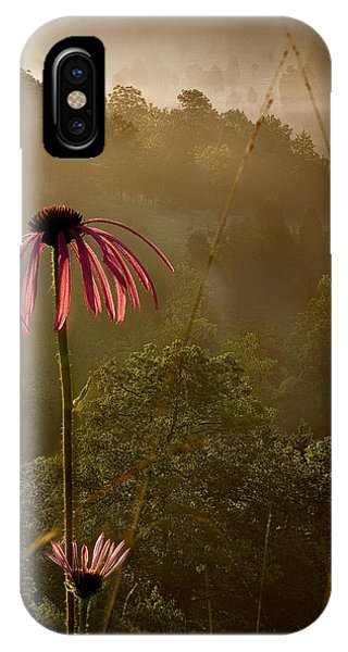Mist On The Glade IPhone Case