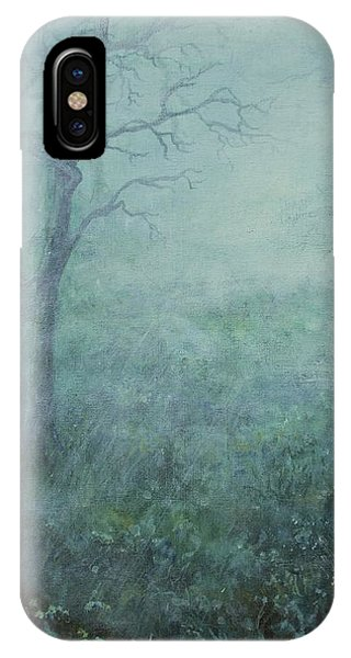 Mist On The Meadow IPhone Case