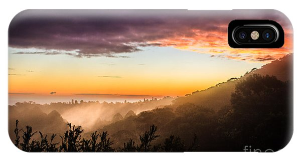 Mist Rising At Dusk IPhone Case