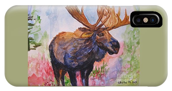 Mister Moose IPhone Case