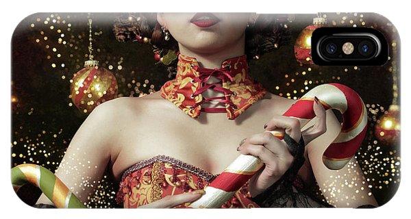 Fairy iPhone Case - Mistress Of The Bright Night by Kiyo Murakami
