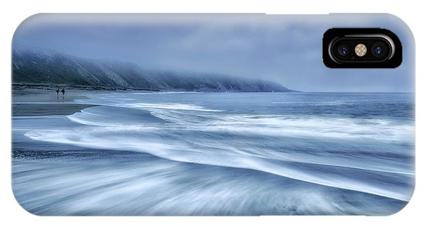 Simple iPhone X Case - Mists In The Sea by Fran Osuna
