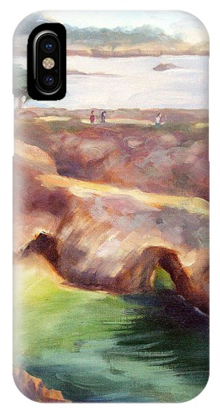 Misty Afternoon China Cove IPhone Case