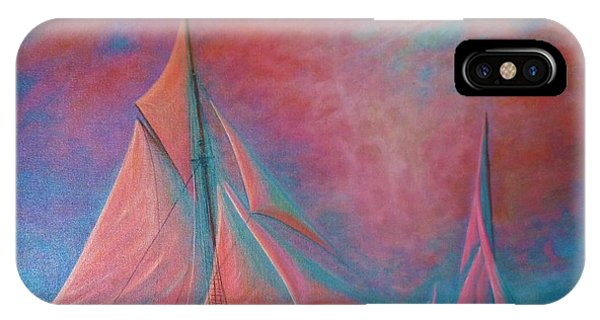 Misty Bay IPhone Case