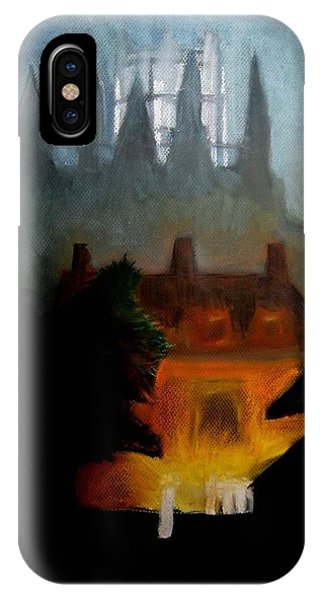 Misty Castle IPhone Case