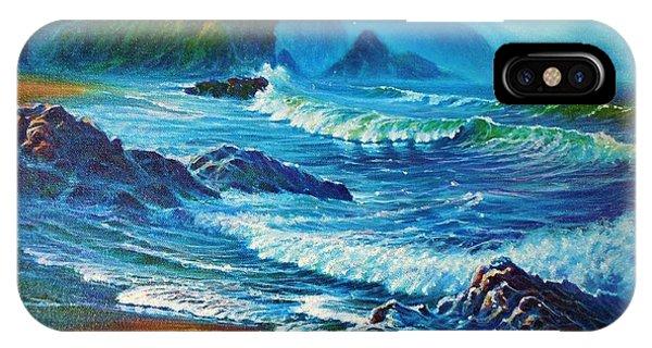Misty Coast IPhone Case