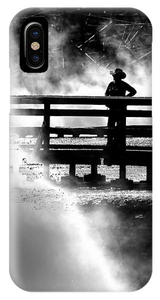 Misty Cowgirl IPhone Case