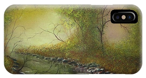Misty Creek IPhone Case