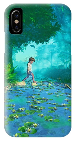Misty Crossing IPhone Case