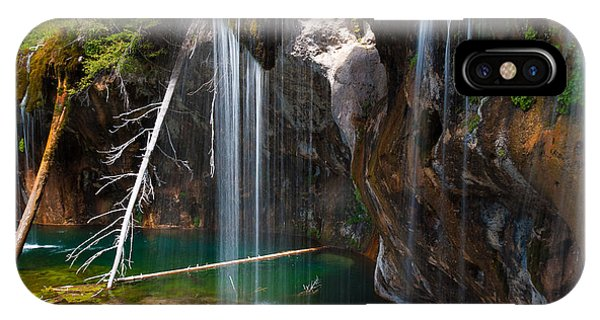 Misty Falls At Hanging Lake IPhone Case