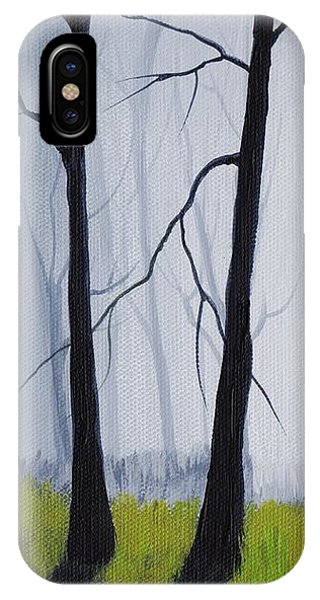 Wizard iPhone Case - Misty Forest by Anastasiya Malakhova