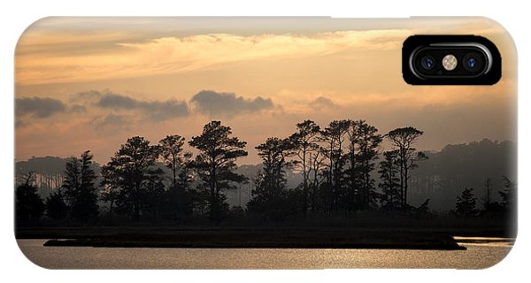 Misty Island Of Assawoman Bay IPhone Case