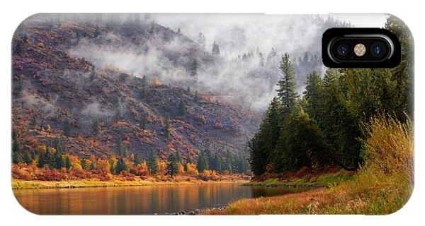 Misty Montana Morning IPhone Case