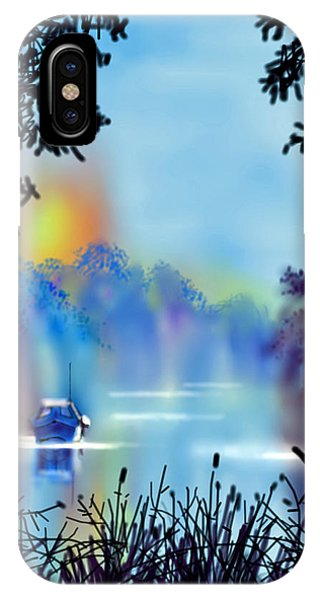 Misty Mooring IPhone Case