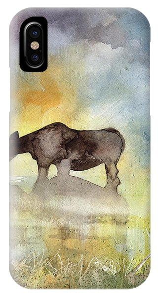 Misty Moose Minerva IPhone Case
