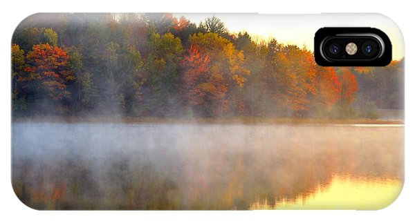 Misty Morning At Stoneledge Lake IPhone Case