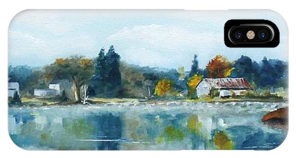 Misty Morning Phone Case by Cathleen Richards-Green