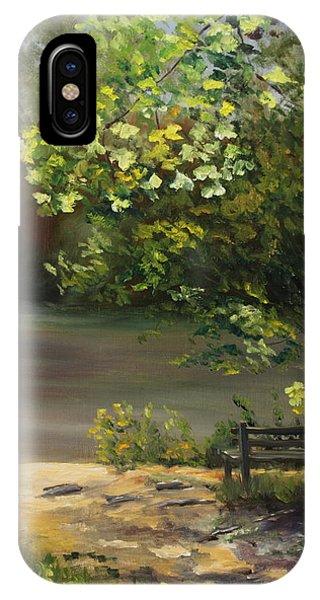 iPhone Case - Misty Morning by Karen Langley