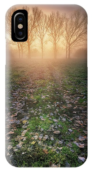 Fog iPhone Case - Misty Morning by Luca Rebustini