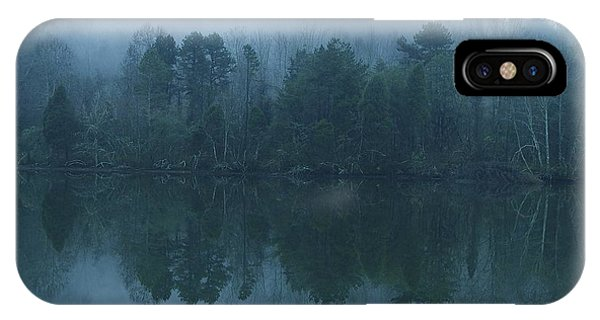 Misty Morning On The Clinch River IPhone Case