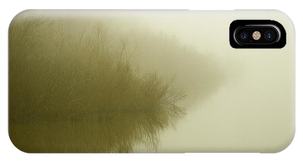 Misty Morning Reflection. IPhone Case