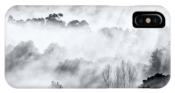 Fog iPhone Case - Misty Mountains. by Antonio Carrillo Lopez