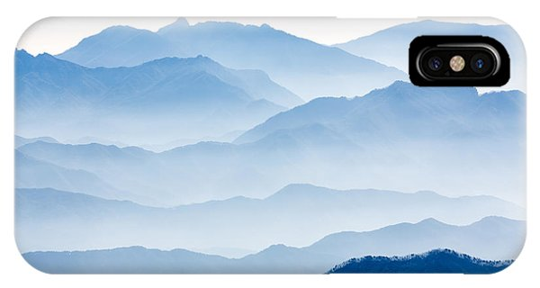 Layer iPhone Case - Misty Mountains by Gwangseop Eom