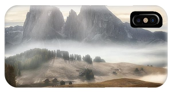 Mist iPhone Case - Misty Mountains by Stan Huang