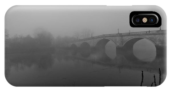 Misty Richmond Bridge IPhone Case