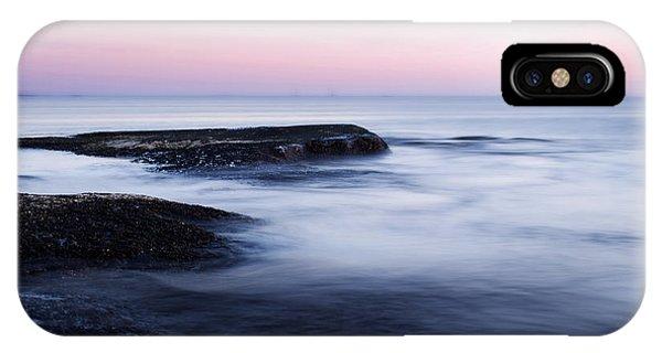 Shore iPhone Case - Misty Sea by Nicklas Gustafsson