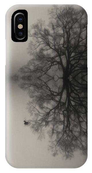 Misty Water Oak IPhone Case