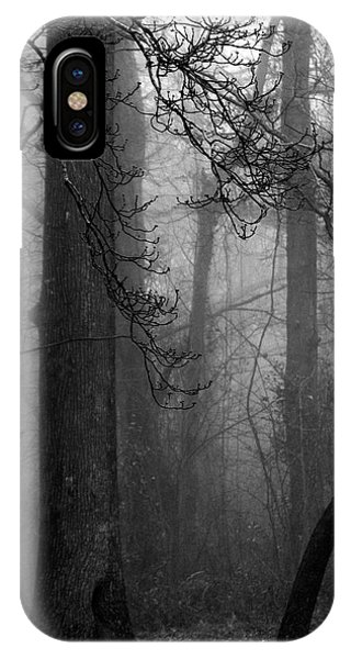 Misty Woods IPhone Case