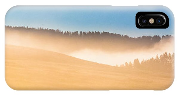Misty Yellowstone   IPhone Case