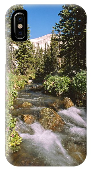 Indian Peaks Wilderness iPhone Case - Mitchell Creek by Eric Glaser